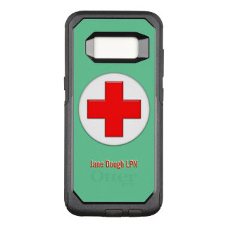 Nurse Cross Name Template OtterBox Commuter Samsung Galaxy S8 Case