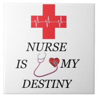 Nurse Destiny Ceramic Tile