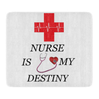 Nurse Destiny Cutting Board
