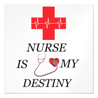 Nurse Destiny Magnetic Card
