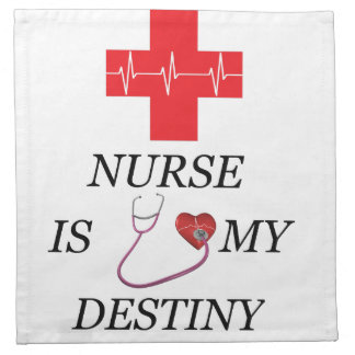 Nurse Destiny Napkin