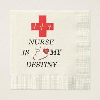 Nurse Destiny Paper Napkins