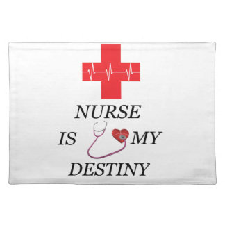 Nurse Destiny Placemat