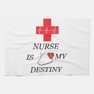 Nurse Destiny Tea Towel