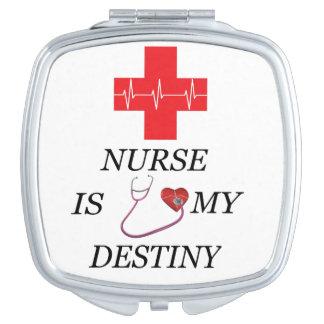 Nurse Destiny Travel Mirror