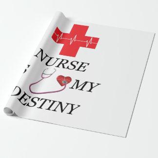 Nurse Destiny Wrapping Paper