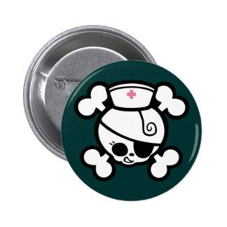Nurse Dolly 6 Cm Round Badge