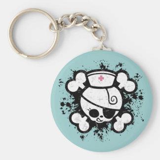 Nurse Dolly Splat Keychains