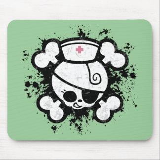 Nurse Dolly Splat Mouse Pad