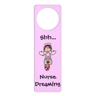 Nurse Dreaming Hanger Door Knob Hanger
