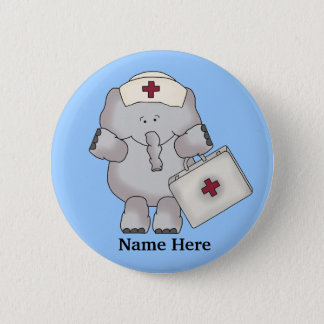 Nurse Elephant button