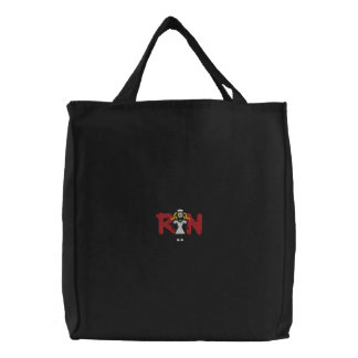Nurse Embroidered Tote Bag
