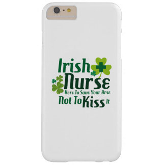 Nurse Funny St Patricks Day Gift Funny Barely There iPhone 6 Plus Case