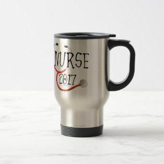 Nurse Graduate 2017 Travel Mug
