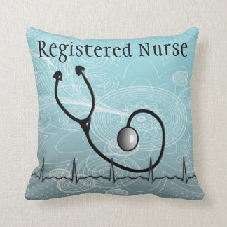 "Nurse Graduation Pillow ""Registered Nurse"""