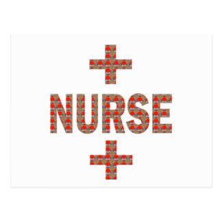 NURSE : HealthCare Hospital Medicine Charity GIFTS Postcard