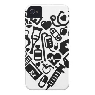 Nurse HEART iPhone 4 Cases