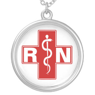 Nurse Initials Necklace
