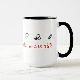 Nurse Inspiration Mug - white