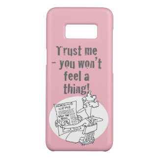 "Nurse is Reading ""Spot the Boil"" Competition Case-Mate Samsung Galaxy S8 Case"