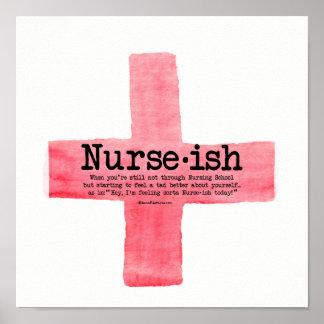 Nurse ish Nursing Student Poster