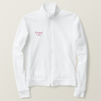 Nurse-L.P.N. Monogram+Personalize Name Embroidered Jacket