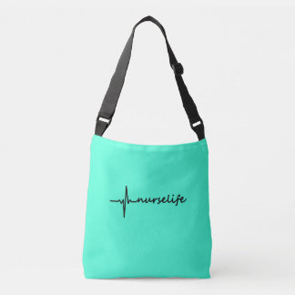 Nurse Life EKG Design Tote Bag