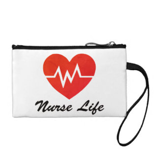 Nurse Life, EKG Heart Pattern Change Purse