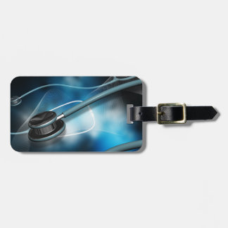 Nurse Medical Stethoscope Luggage Tag