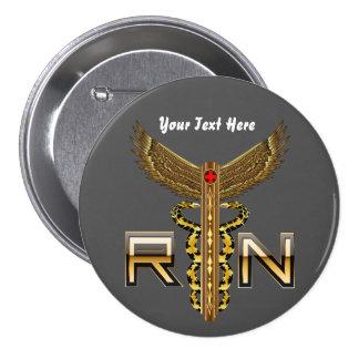 Nurse Men Women View about design below 7.5 Cm Round Badge