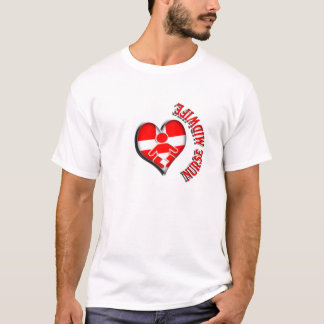 NURSE MIDWIFE HEART MEDICAL SYMBOL T-Shirt