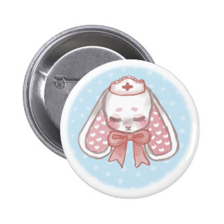 Nurse Mimi (without eyepatch) 6 Cm Round Badge