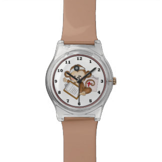 Nurse Monkey May 28th wrist watch