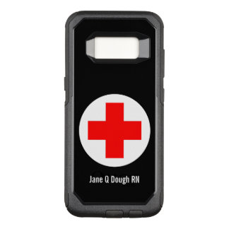 Nurse Name Template OtterBox Commuter Samsung Galaxy S8 Case