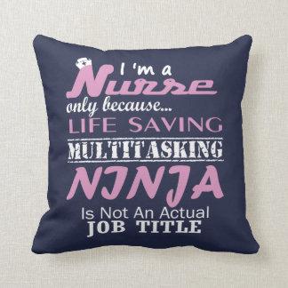 Nurse Ninja Cushion