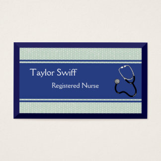 Nurse or Doctor or Medical Healthcare Business Card