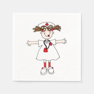 Nurse Paper Napkin