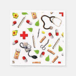 Nurse Party Paper Napkins