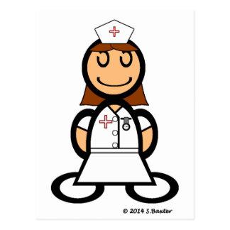 Nurse (plain) postcard