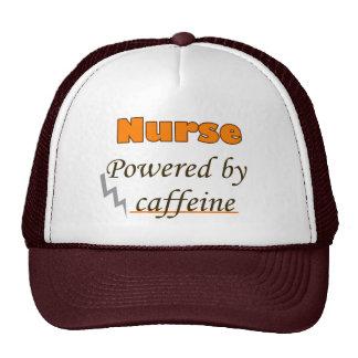 Nurse Powered by caffeine Cap