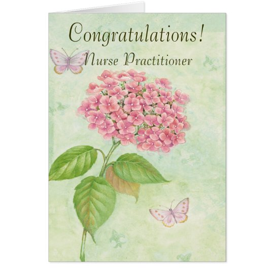 "Nurse Practitioner ""Congratulations"" Card"
