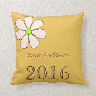 Nurse Practitioner Graduation 2016 Throw Pillow