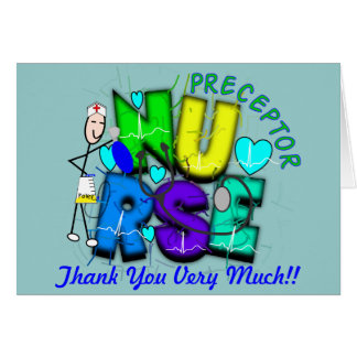 "Nurse Preceptor ""Thank  You"" Gifts Card"