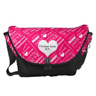 Nurse Pride Attributes/Pink Courier Bags