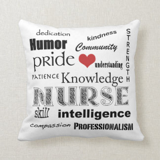 Nurse Pride Attributes-with Red Heart Cushion
