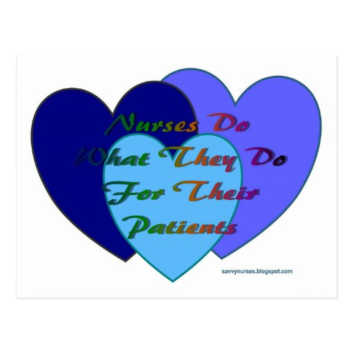 Nurse products postcard