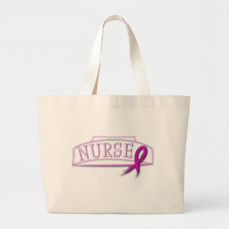 NURSE RIBBON FOR BLACK JUMBO TOTE BAG