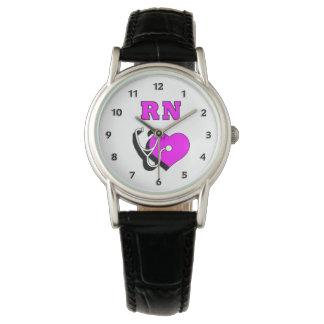 Nurse RN Care Wrist Watch