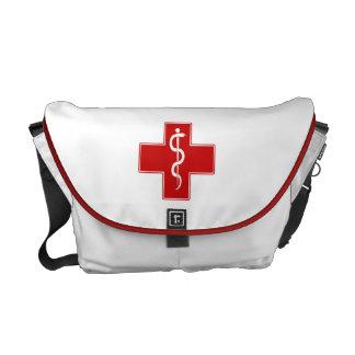 Nurse Rod of Asclepius Commuter Bag