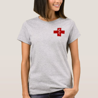 Nurse Rod of Asclepius T-Shirt